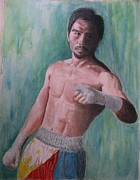 Boxer Painting Framed Prints - Phenomenal. Framed Print by SAIGON De Manila