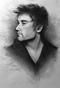Songwriter  Drawings - Phil Wickham by Ulysses Albert III