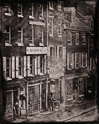 Philadelphia Photo Prints - Philadelphia 1843 Print by Andrew Fare