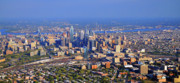 Photo Flights Art - Philadelphia Aerial 0518 by Duncan Pearson