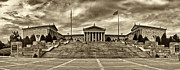 Philadelphia Photo Prints - Philadelphia Art Museum 3 Print by Jack Paolini