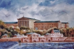 Philadelphia Painting Prints - Philadelphia Art Museum Print by Joyce A Guariglia