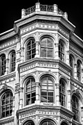 Blackrussianstudio Framed Prints - Philadelphia Building Detail 1 Framed Print by Val Black Russian Tourchin