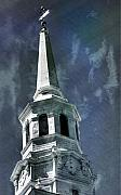 Philadelphia Photo Prints - Philadelphia Christ Church Print by Scott  Wyatt