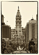 Philadelphia Photo Prints - Philadelphia City Hall Print by Jack Paolini