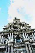 Hall Digital Art Prints - Philadelphia City Hall -Looking Up Print by Bill Cannon