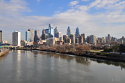 University City Prints - Philadelphia Cityscape Print by Bill Cannon