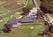 Aerial Photography Originals - Philadelphia Cricket Club Flourtown Clubhouse 6075 W Valley Green Rd  Flourtown PA  19031 by Duncan Pearson