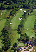 Militia Hill Golf Course - Philadelphia Cricket Club Militia Hill Golf Course 1st Hole by Duncan Pearson