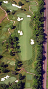 Aerials Of Philly Cricket Prints - Philadelphia Cricket Club Militia Hill Golf Course 8th Hole Print by Duncan Pearson