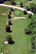 Aerial Photography Originals - Philadelphia Cricket Club St Martins Golf Course 3rd Hole 415 West Willow Grove Ave Phila PA 19118 by Duncan Pearson