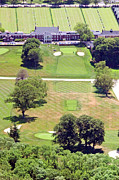 Aerials Of Philly Cricket Prints - Philadelphia Cricket Club St Martins Golf Course 9th Hole 415 W Willow Grove Ave Phila PA 19118 Print by Duncan Pearson