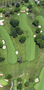 Duncan Pearson Posters - Philadelphia Cricket Club Wissahickon Golf Course 4th Hole Poster by Duncan Pearson