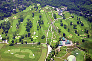 Cricket Club - Philadelphia Cricket Club Wissahickon Golf Course Front Nine Holes by Duncan Pearson