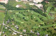 Cricket Club - Philadelphia Cricket Club Wissahickon Holes 12 13 14 15 16 and 17 by Duncan Pearson