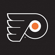 Philadelphia Flyers Digital Art - Philadelphia Flyers Dark by Game On Images