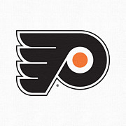 Philadelphia Flyers Digital Art - Philadelphia Flyers White by Game On Images