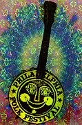 Hippie Prints - Philadelphia Folk Festival Print by Bill Cannon