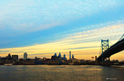 Philadelphia Photo Prints - Philadelphia from the Jersey Side Print by Bill Cannon