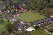 Aerial Photo - Philadelphia International Cricket Festival by Duncan Pearson