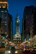Phila Framed Prints - Philadelphia Framed Print by John Greim