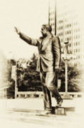 Philadelphia Mayor - Frank Rizzo Print by Bill Cannon