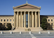 Benjamin Franklin Parkway Photos - Philadelphia Museum of Art - Courtyard by Brendan Reals
