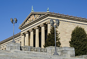 Museum Of Art Prints - Philadelphia Museum of Art Print by Brendan Reals