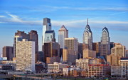 Phila Framed Prints - Philadelphia Skyline Framed Print by John Greim