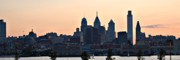 Philadelphia Skyline Art - Philadelphia Skyline by Philip Dymond
