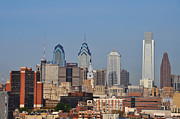 Philadelphia Metal Prints - Philadelphia Standing Tall Metal Print by Bill Cannon