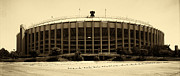 Philadelphia Metal Prints - Philadelphia Veterans Stadium Metal Print by Jack Paolini