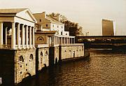 Philadelphia Originals - Philadelphia Water Works and Cira Center by Jack Paolini