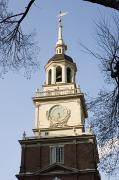 Liberation Photos - Philadelphias Independence Hall by Tim Laman