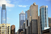 Philadelphia Skyline Photos - Philadlephia Skyline by Andrew Dinh
