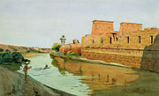 Temple Prints - Philae on the Nile Print by Alexander West
