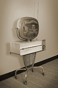 Television Digital Art - Philco Predicta Princess Swivel Television by Mike McGlothlen