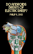 Book Cover Prints - Philip K Dick - Electric Sheeps Print by Tomas Raul Calvo Sanchez