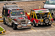 Jeeps Photos - Philippine Jeeps by Christopher Holmes