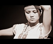 Poise Photo Prints - Philippino Dancer Print by Chris Dutton