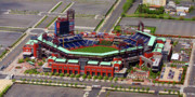 Phillies Aerial Posters - Phillies Citizens Bank Park Poster by Duncan Pearson