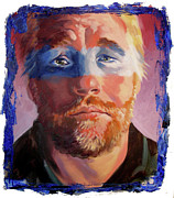 Phillip Seymour Hoffman Print by Ken Meyer jr