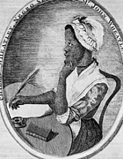 Hand On Chin Acrylic Prints - Phillis Wheatley 1753-1784, The First Acrylic Print by Everett