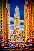 Broad Street Prints - Philly Print by David Hahn
