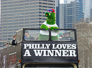 Phanatic Prints - Philly Loves A Winner Print by Alice Gipson