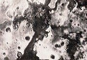 Phobos Prints - Phobos 2 Spacecraft Photo Of The Surface Of Mars Print by Ria Novosti