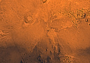 Astrogeology Photos - Phoenicis Lacus Region Of Mars by Stocktrek Images