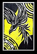 Printmaking Mixed Media - Phoenix by Christopher Williams