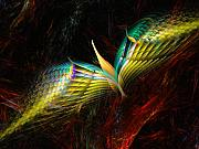 Avian Dream Series - Phoenix by David Lane