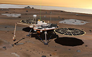 Digitally Generated Image Photos - Phoenix Mars Lander by Stocktrek Images
